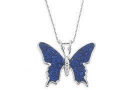 Find the most elegant and chic butterfly necklace online!